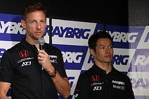 "Button vows to go ""aggressive"" in new Super GT season"