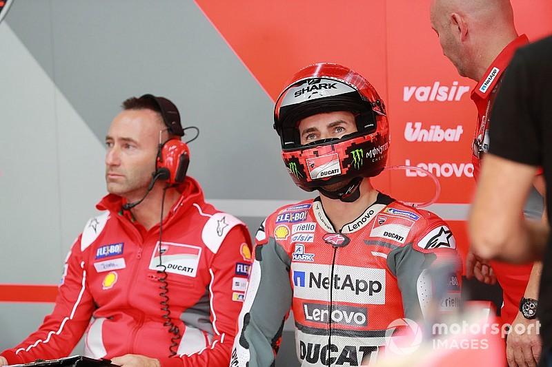 """Lorenzo: """"Dovrò aspettare di salire in moto per capire come risponde il polso"""""""