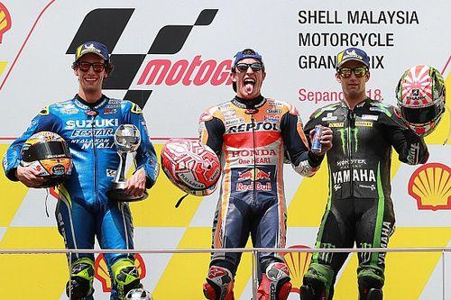 MotoGP Sepang: Rossi düştü, Marquez kazandı!