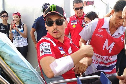 Лоренсо снялся с гонки MotoGP в Таиланде