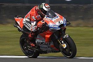ロレンソ、日本GP欠場を決断。怪我癒えず……
