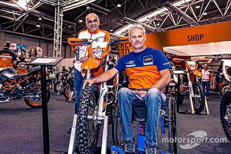 Dakar 2019: Nicola Dutto è il primo paraplegico al via con una moto