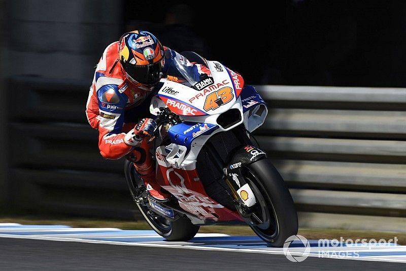 Wheeling, patinage, chute: le GP du Japon compliqué de Miller