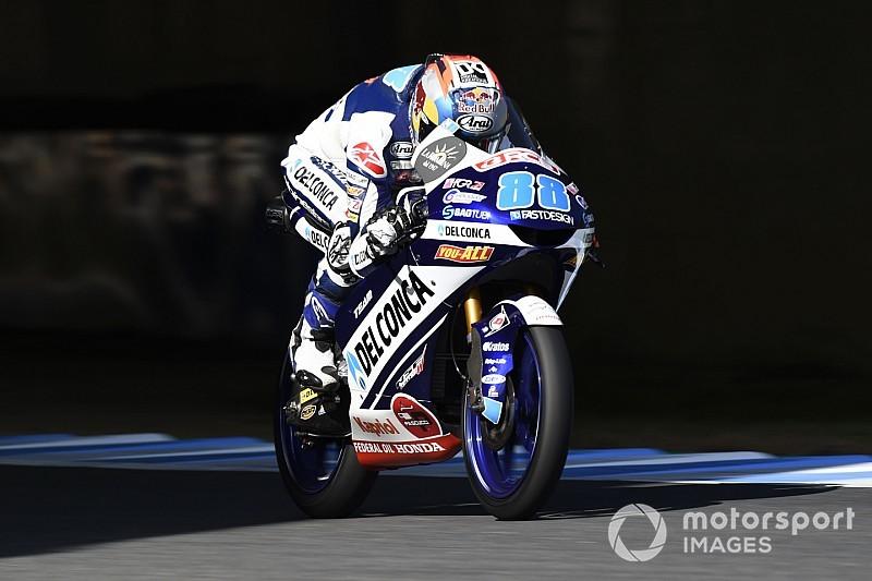 FP1 Moto3 Australia: Sempat dihentikan, Martin pimpin sesi