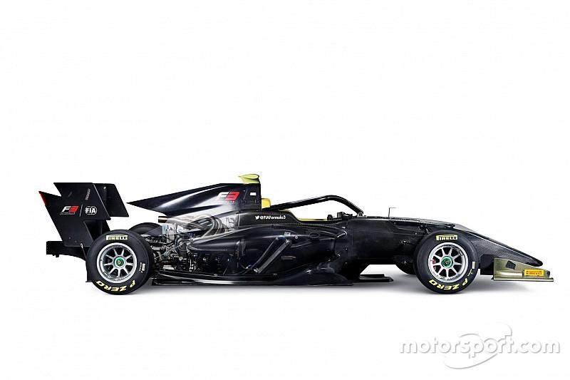 Формула 3 представила машину 2019 года
