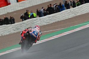 Петруччи стал быстрейшим во второй дождевой тренировке MotoGP