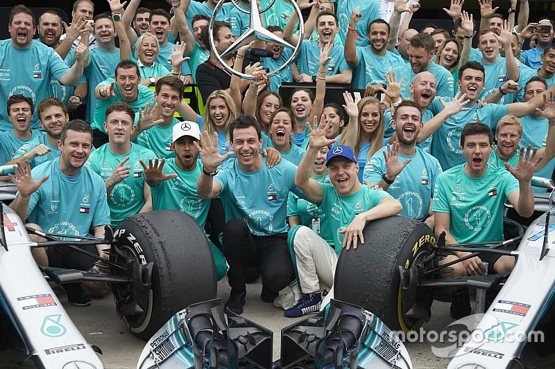 Mercedes ne va pas baisser de rythme, selon Lowe