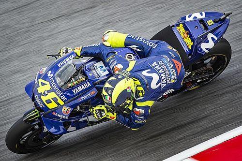 """Rossi: """"Adiantar a corrida não garante que ela seja no seco"""""""