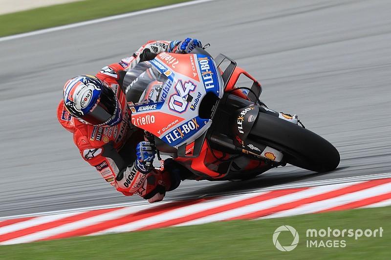 Sepang MotoGP: Dovizioso fastest in FP1, Lorenzo struggles