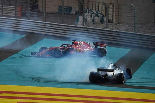 """Hamilton: """"Was een grote eer om tegen Vettel te racen"""""""