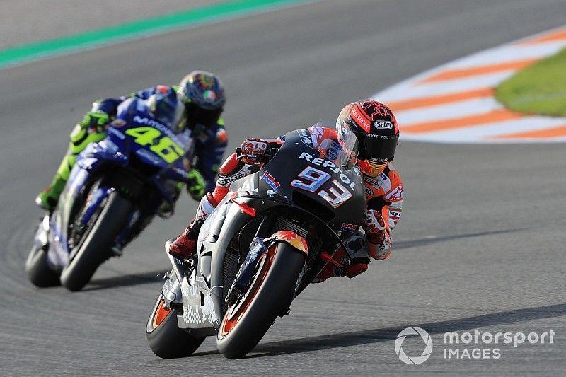 """Rossi dice que Márquez """"es un valiente"""" y admite que le """"estudia"""""""