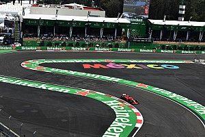 La parrilla del GP de México de F1, en imágenes
