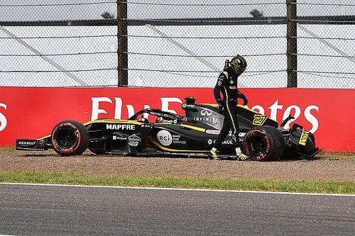 GP Japan 2018: Hülkenberg crasht im Abschlusstraining