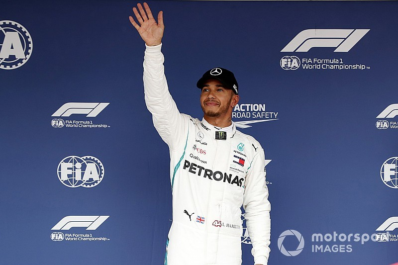 Lewis Hamilton: 80 Poles sind