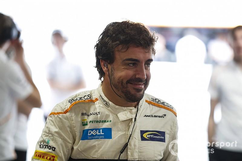 "Alonso: Every F1 race a ""celebration"" since I decided to stop"