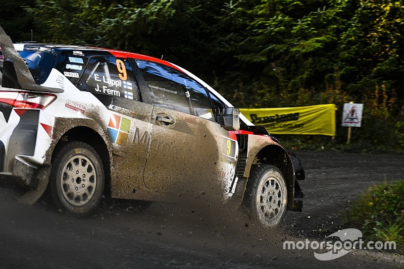 Wales WRC: Toyota's Lappi takes early lead