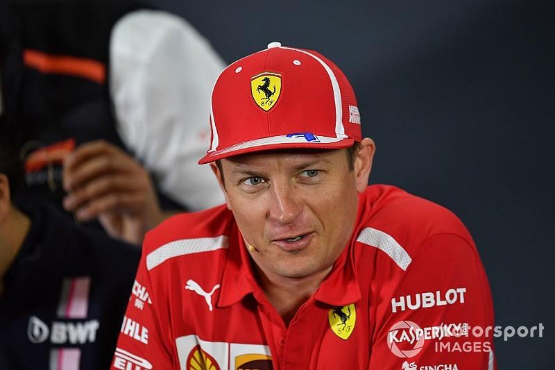 Räikkönen kis bulit csapott az austini győzelme után, a másnap nehézkesen telt