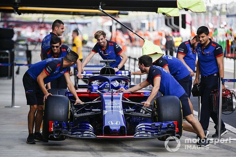 Honda introduceert upgrade in Rusland: Gridstraffen voor Toro Rosso-duo