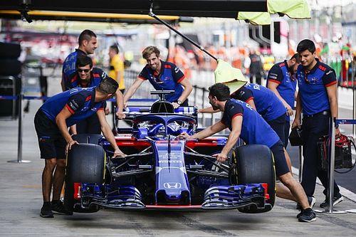 Honda introduce la power unit evoluta a Sochi: le Toro Rosso vanno in penalità