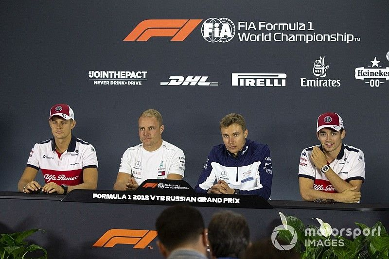 Russian GP: Thursday's press conference