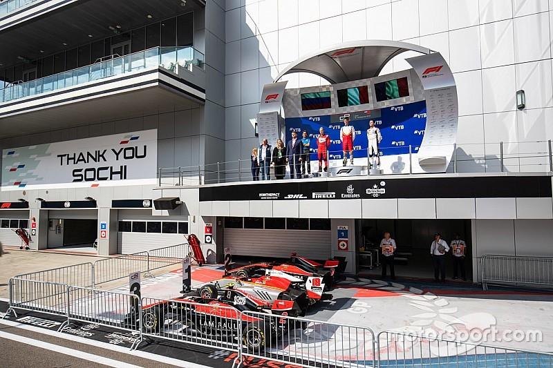 Pulcini consigue su primera victoria en Rusia