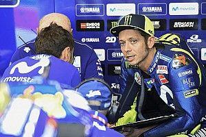 Rossi se voit à deux dixièmes du podium