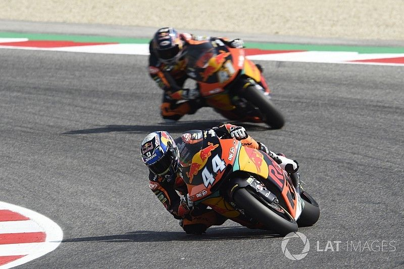 Moto2 Misano: Oliveira voor Fernandez in derde oefensessie, P20 Bendsneyder