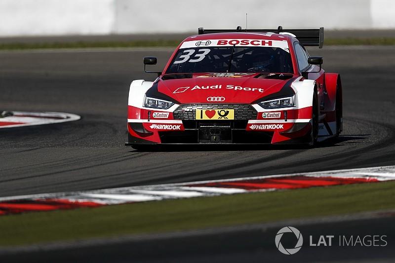 DTM Nürburgring: Opnieuw pole voor Rast, Frijns voorlaatste