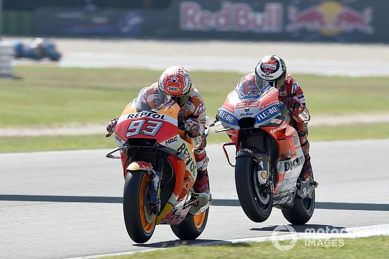"Marquez: Timing of Ducati surge ""lucky"""
