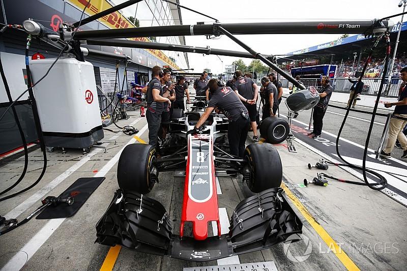 Haas non è conforme al regolamento tecnico: è irregolare nel T-tray, Grosjean escluso