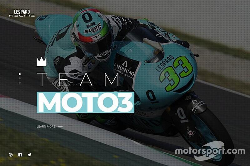Leopard Racing lancia il suo nuovo sito online