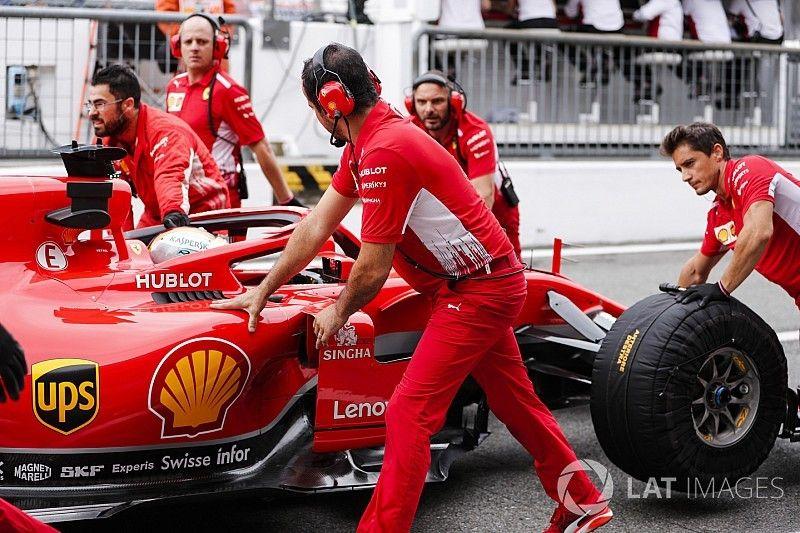 Monza, Libere 2: Vettel trascina le due Ferrari ma poi sbatte in Parabolica