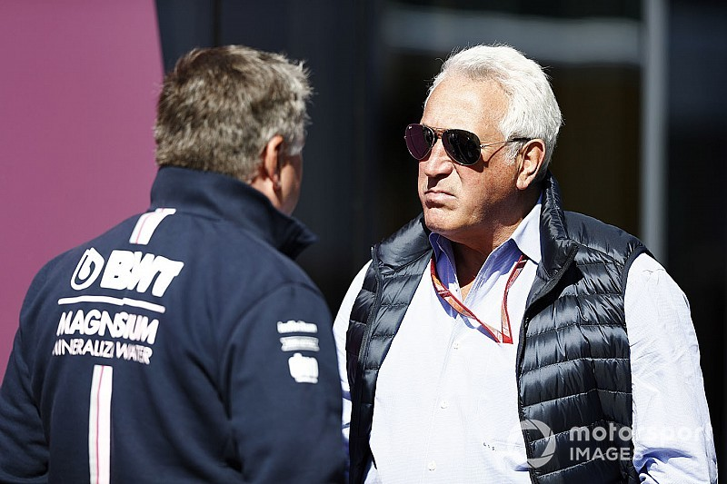 Pérez bluffé par la motivation de Lawrence Stroll