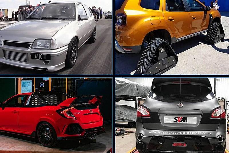 Transformaciones y preparaciones de coches sorprendentes