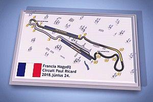 Magyar F1-es pályabemutató videó a Francia Nagydíjról