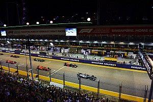 Положение в чемпионате после Гран При Сингапура