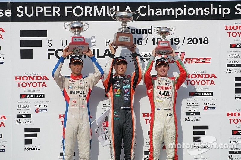 Motegi Super Formula: Ishiura wins, Cassidy takes points lead