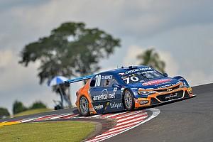 Diego Nunes lidera treino 'pegado' da Stock Car em Goiânia