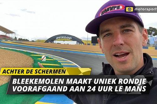 Video: Beleef een uniek rondje Le Mans met Jeroen Bleekemolen