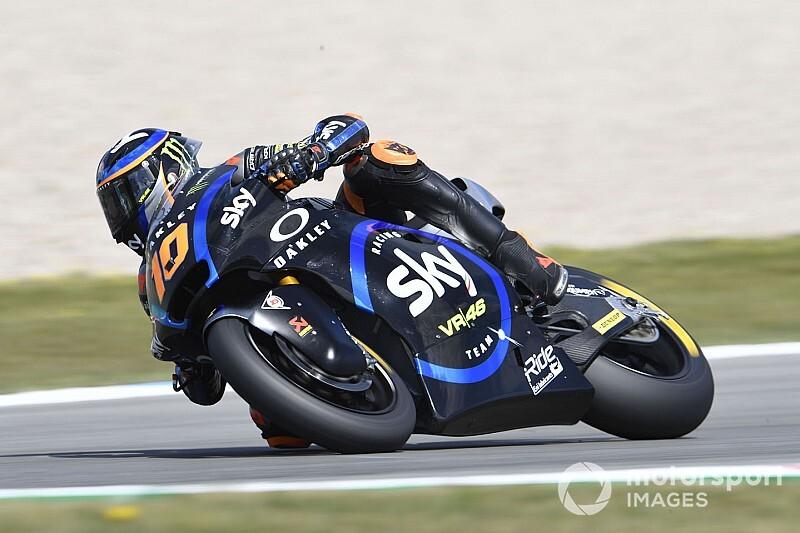 Moto2, Aragon, Libere 2: Marini e Baldassarri sugli scudi