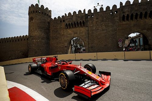 Ergebnis: Formel 1 Baku 2019, 1. Freies Training