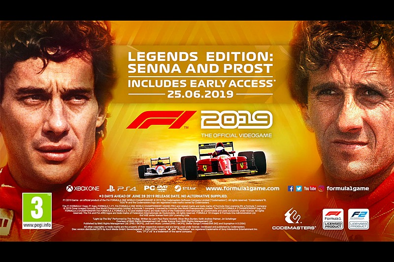 Senna Vs. Prost kiadásban is elérhető lesz az F1 2019: képek, videó