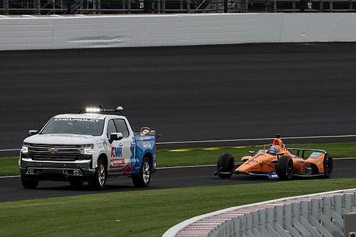 Alonso lamenta teste encurtado por problema e chuva em Indy