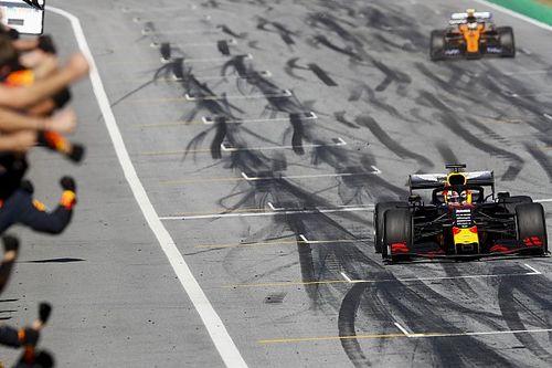 Ферстаппен отобрал у Леклера дебютную победу в Ф1 за три круга до финиша