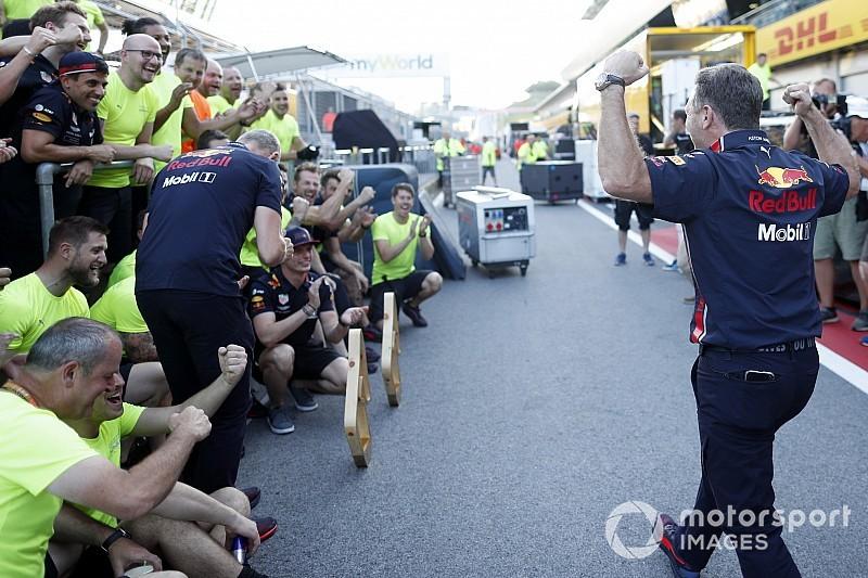 A pillanat, amikor a Red Bull megtudja, az FIA tisztázta Verstappent