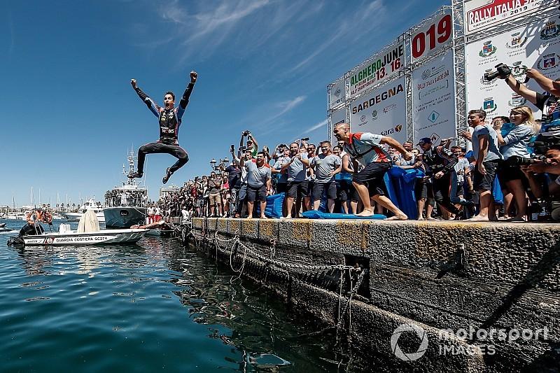 Las fotos más destacadas del Rally de Italia-Cerdeña 2019