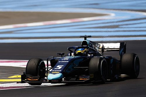Paul Ricard F2: Sette Camara tops disrupted qualifying