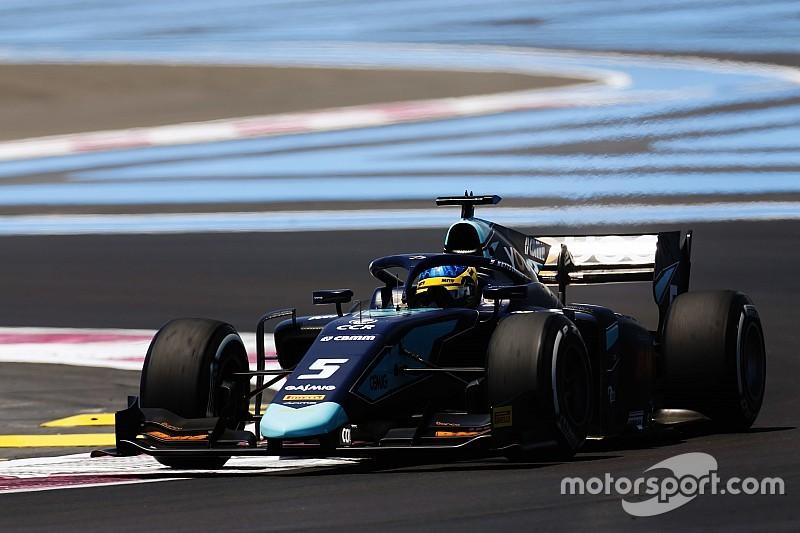 Sette Câmara larga mal, mas chega em 2º na França; De Vries vence e assume liderança da F2