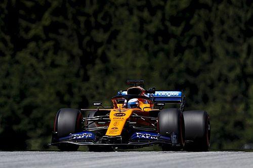 Sainz saldrá desde el fondo en Austria por cambio de motor