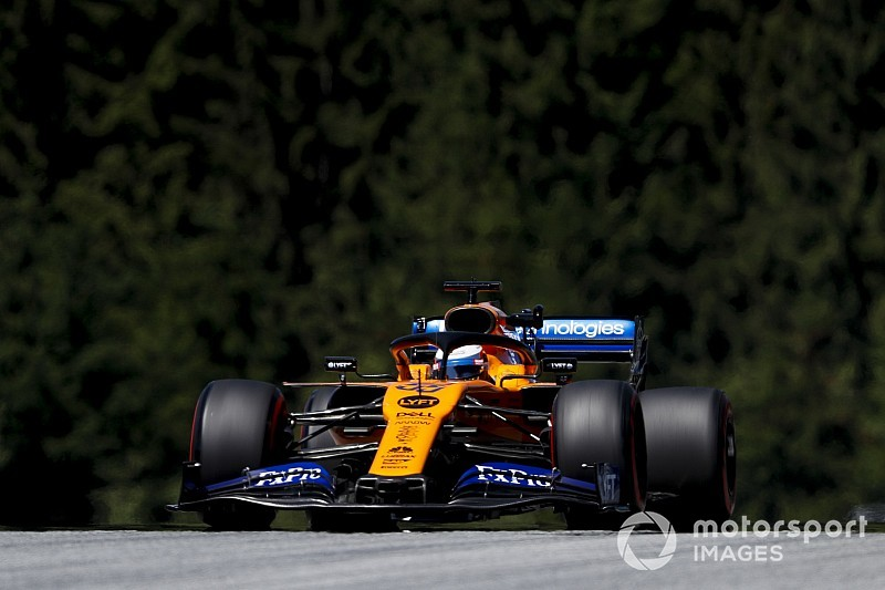 Sainz set to start Austrian GP from back of grid